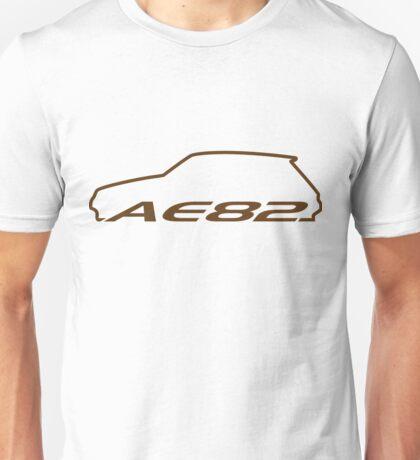 AE82 Hatch -  Brown Unisex T-Shirt