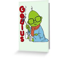Muppet Babies - Bunsen - Genius Greeting Card