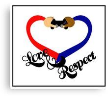 Love & Respect Canvas Print