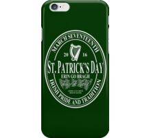 St. Patrick's Day - oval iPhone Case/Skin