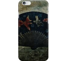 Japanese Folding Fish Fan  iPhone Case/Skin