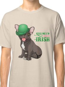 Kiss me I'm French-Irish  Classic T-Shirt