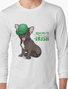 Kiss me I'm French-Irish  Long Sleeve T-Shirt