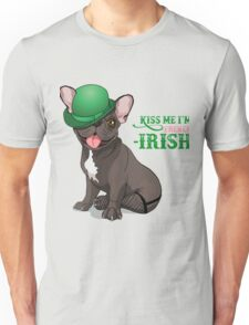 Kiss me I'm French-Irish  Unisex T-Shirt