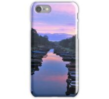 Early Morning At The Boat Park iPhone Case/Skin