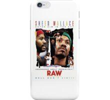 Rasheed Wallace - RAW iPhone Case/Skin