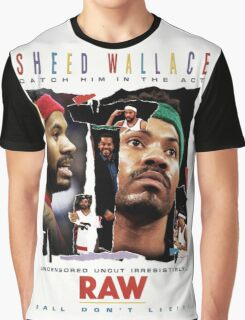 Rasheed Wallace - RAW Graphic T-Shirt