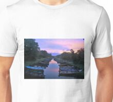 Early Morning At The Boat Park Unisex T-Shirt