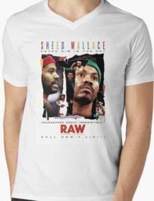 Rasheed Wallace - RAW Mens V-Neck T-Shirt