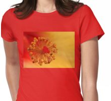 The Centre Of The Hibiscus Womens Fitted T-Shirt