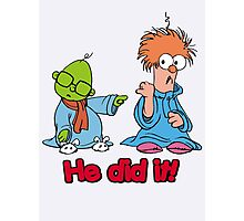 Muppet Babies - Bunsen & Beeker - He Did It! Photographic Print