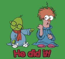 Muppet Babies - Bunsen & Beeker - He Did It! One Piece - Short Sleeve