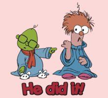 Muppet Babies - Bunsen & Beeker - He Did It! One Piece - Long Sleeve