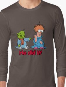 Muppet Babies - Bunsen & Beeker - He Did It! Long Sleeve T-Shirt