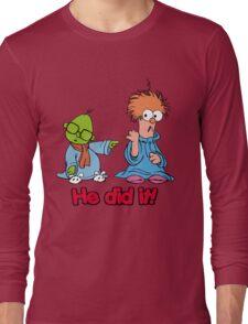 Muppet Babies - Bunsen & Beeker - He Did It! Long Sleeve T-Shirt