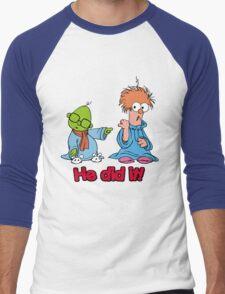 Muppet Babies - Bunsen & Beeker - He Did It! Men's Baseball ¾ T-Shirt