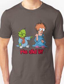 Muppet Babies - Bunsen & Beeker - He Did It! T-Shirt