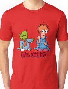 Muppet Babies - Bunsen & Beeker - He Did It! Unisex T-Shirt