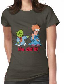 Muppet Babies - Bunsen & Beeker - He Did It! Womens Fitted T-Shirt