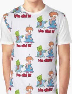 Muppet Babies - Bunsen & Beeker - He Did It! Graphic T-Shirt