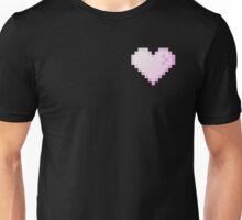 Pixel Heart Store (black background) Unisex T-Shirt