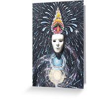 Inner Evolution Greeting Card
