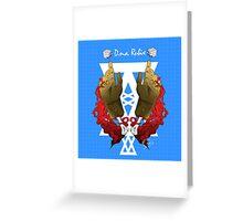 DNA Rubix Greeting Card