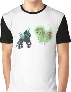cheeselegs vs pinkie pie without text  Graphic T-Shirt