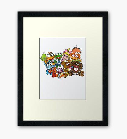 Muppet Babies - Group Framed Print