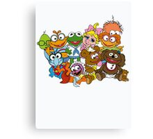 Muppet Babies - Group Canvas Print