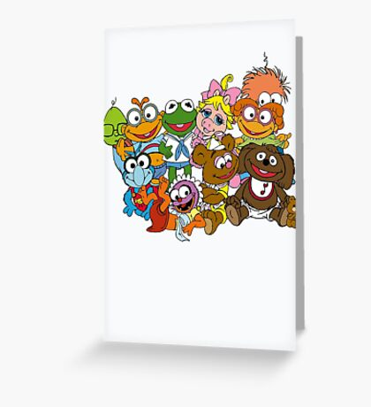 Muppet Babies - Group Greeting Card