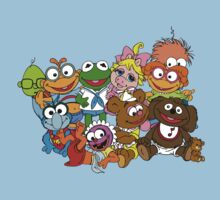 Muppet Babies - Group Kids Tee