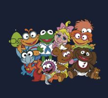 Muppet Babies - Group One Piece - Short Sleeve