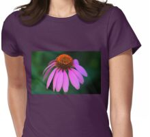 Purple Coneflower Delight Womens Fitted T-Shirt