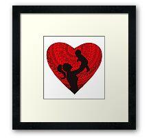 Motherhood - Heart Framed Print