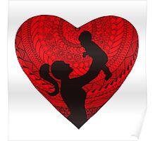 Motherhood - Heart Poster