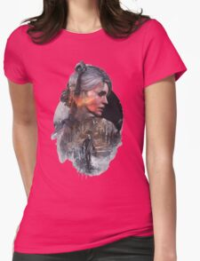 the witcher 3 wild hunt ciri Womens Fitted T-Shirt