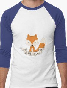 Fox for sake Men's Baseball ¾ T-Shirt