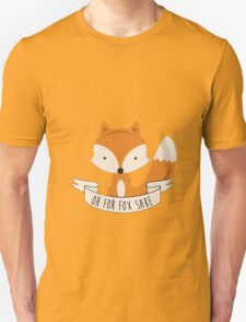 Fox for sake Unisex T-Shirt
