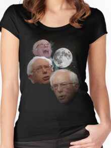 Three Bernie Moon Women's Fitted Scoop T-Shirt