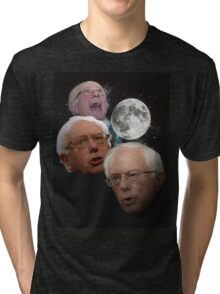 Three Bernie Moon Tri-blend T-Shirt