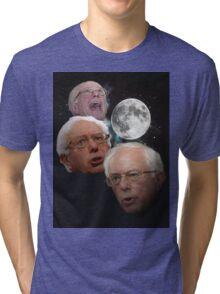 Three Bernie Moon Tri-blend T-Shirt