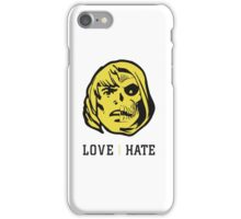 LOVE&HATE iPhone Case/Skin