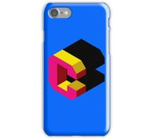 Letter C Isometric Graphic iPhone Case/Skin