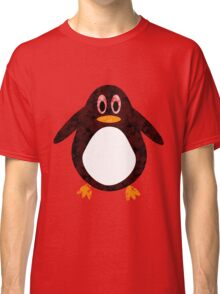 Geometric Penguin Classic T-Shirt