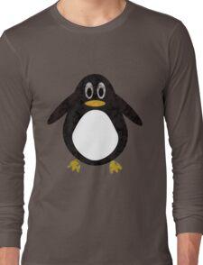 Geometric Penguin Long Sleeve T-Shirt