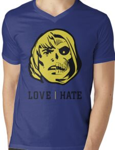 LOVE&HATE Mens V-Neck T-Shirt