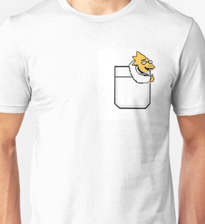 Alphys in your pocket! Unisex T-Shirt
