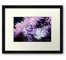 The Lavender Ness Monster! Framed Print