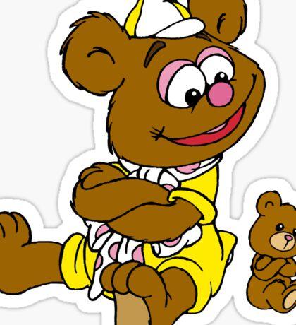 Muppet Babies - Fozzie Bear & Teddy - Arms Crossed Sticker